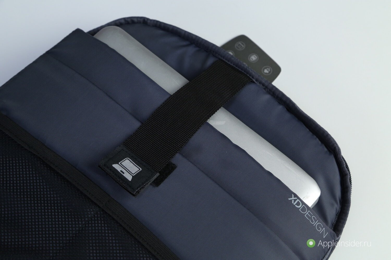 de5886289b04 Внешняя часть рюкзака скрывает несколько слоев специального материала,  который может противостоять порезам — это гарантирует, что никто не сможет  вскрыть ...