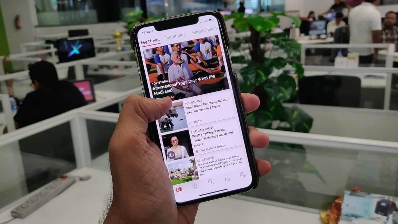 Новый конкурент Apple News от Microsoft работает в России