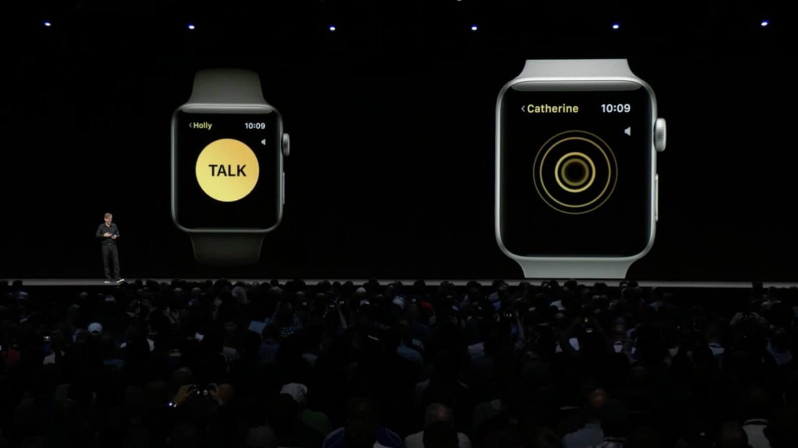 Что представляет собой Walkie-Talkie в watchOS 5
