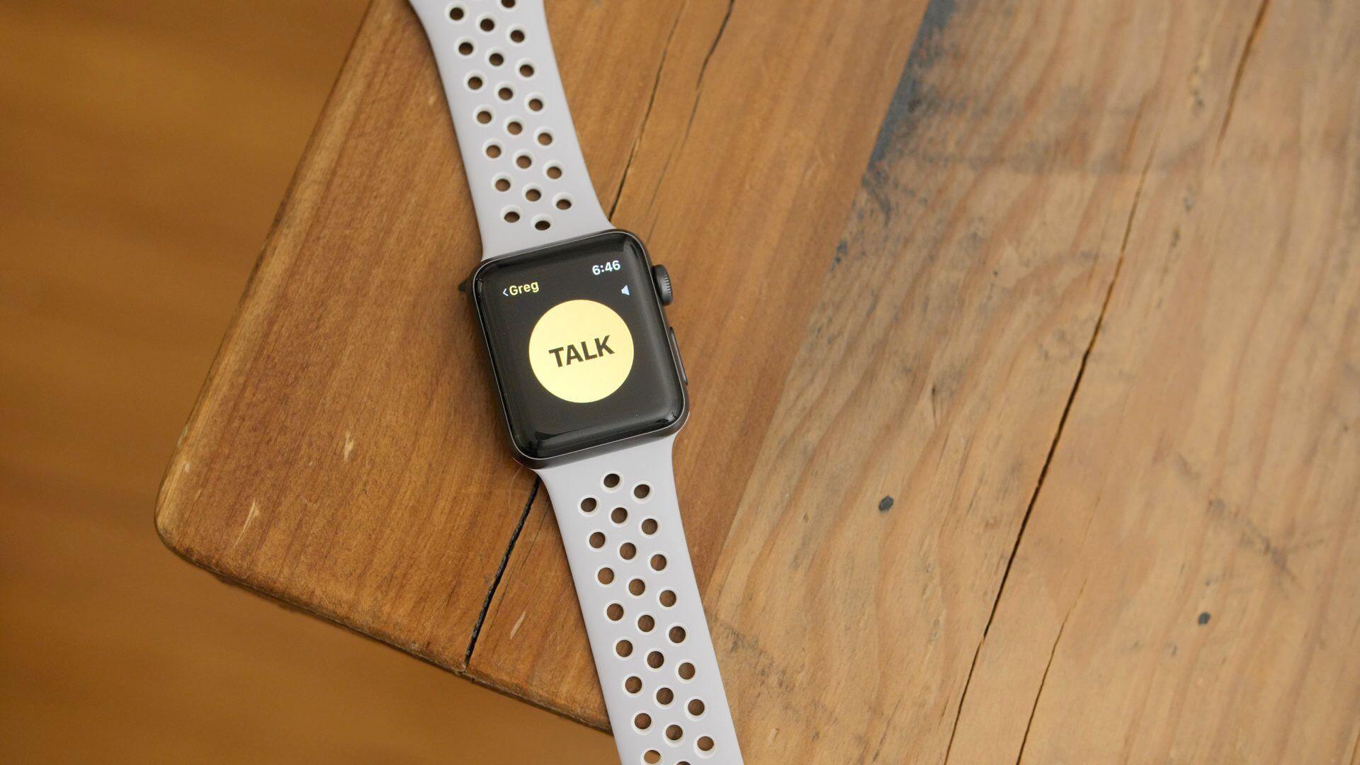 Как работает загадочная функция Walkie-Talkie на Apple Watch