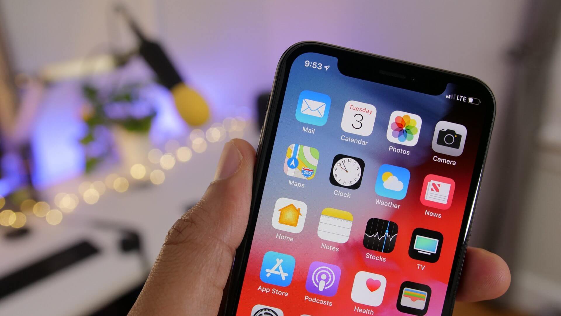 Вышла четвертая бета-версия iOS 12 для разработчиков