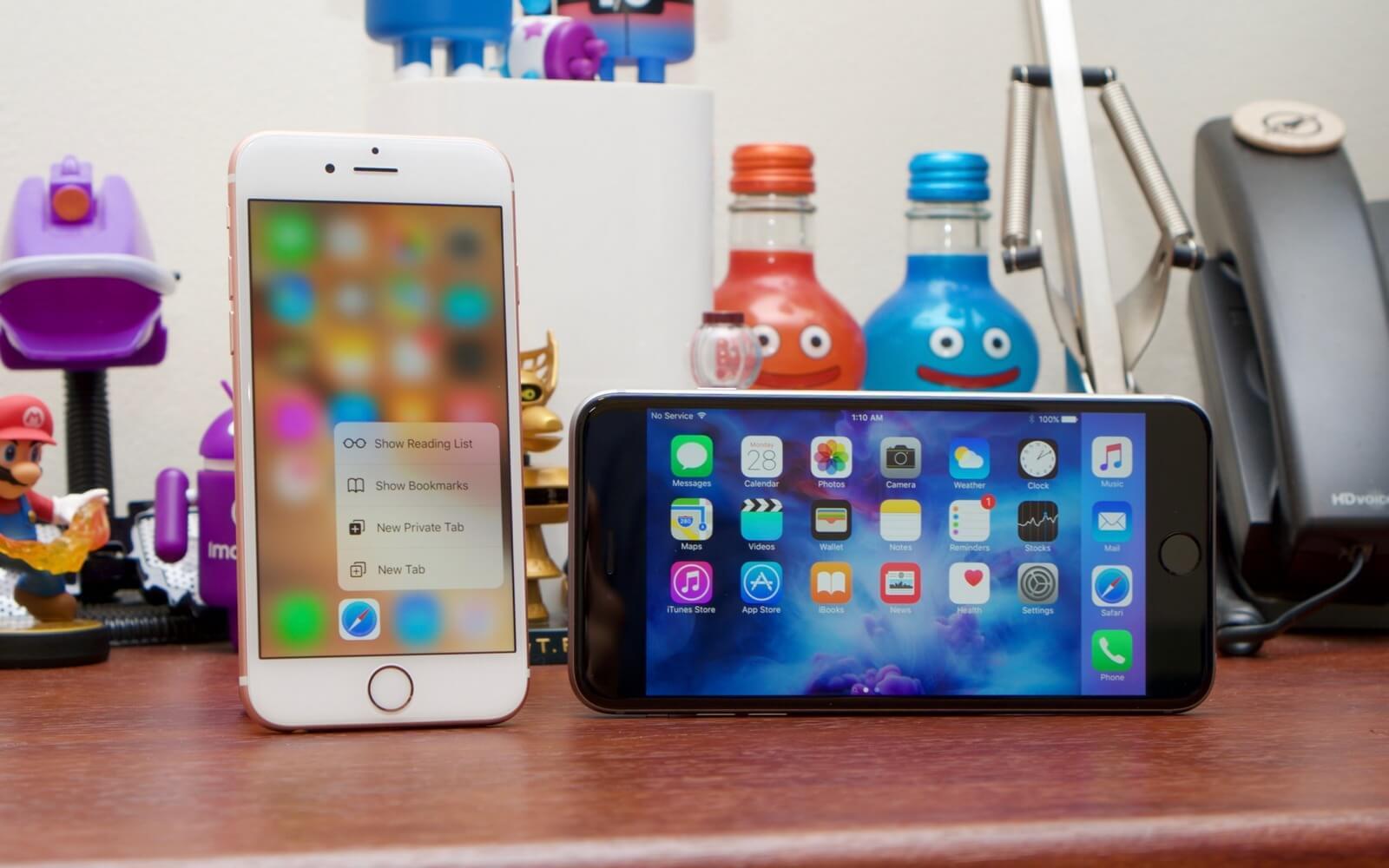 Как изменилось быстродействие iPhone 6s и iPhone 7 на iOS 12 beta 6
