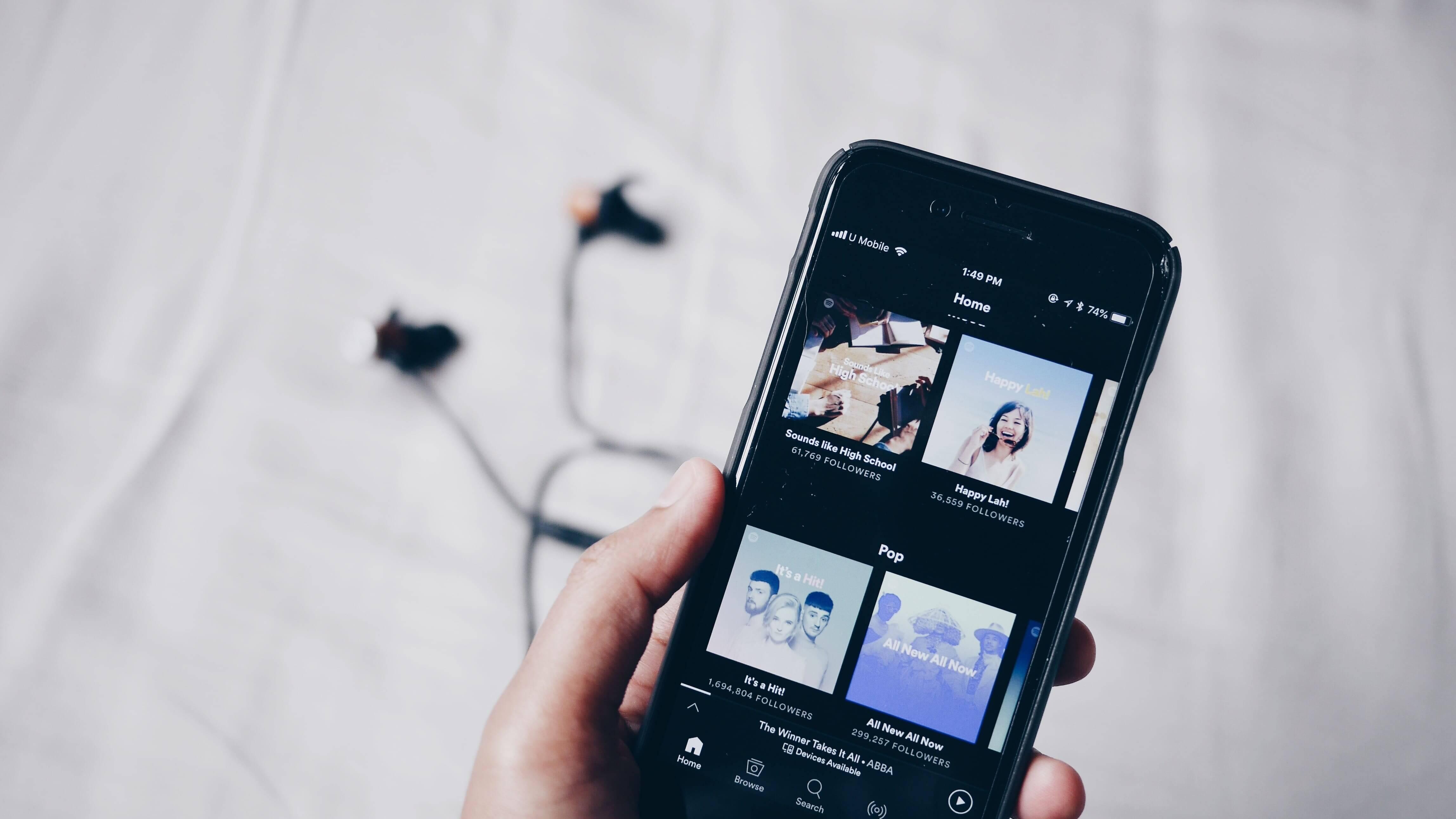 В бесплатной версии Spotify можно будет пропускать рекламу