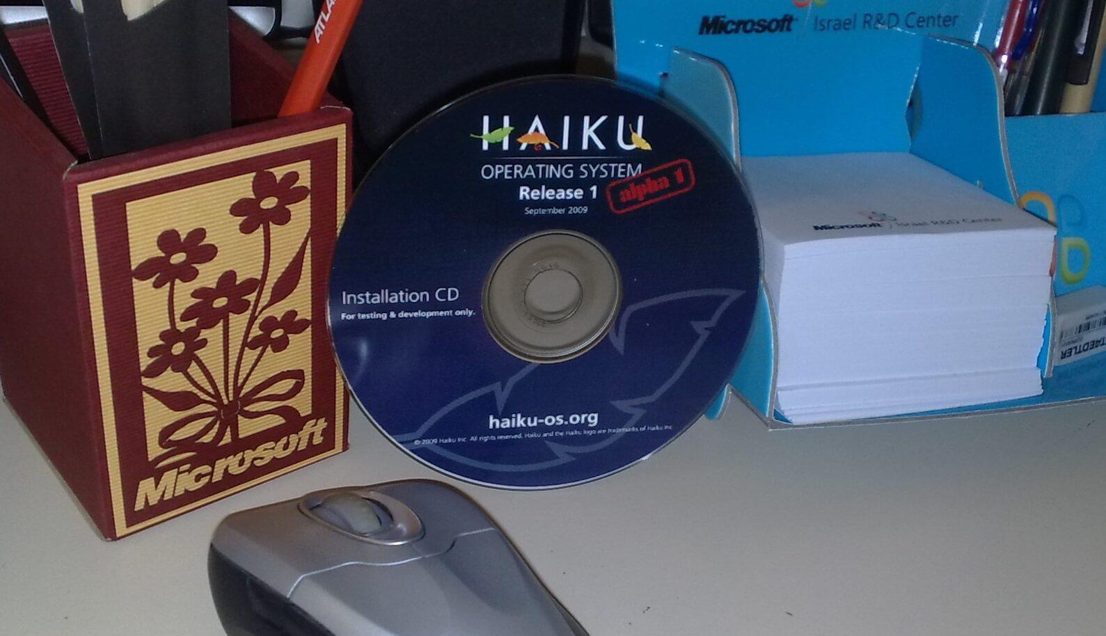 История Haiku (OpenBeOS)