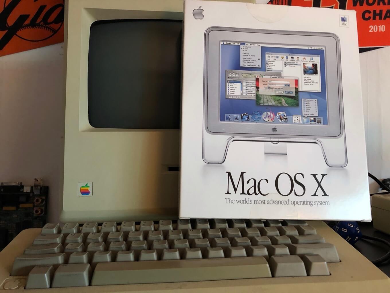 Это могло случиться с классической Mac OS