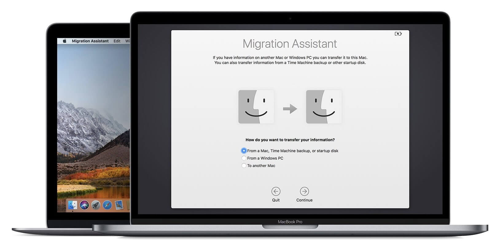 macOS Mojave сможет перенести больше данных с Windows