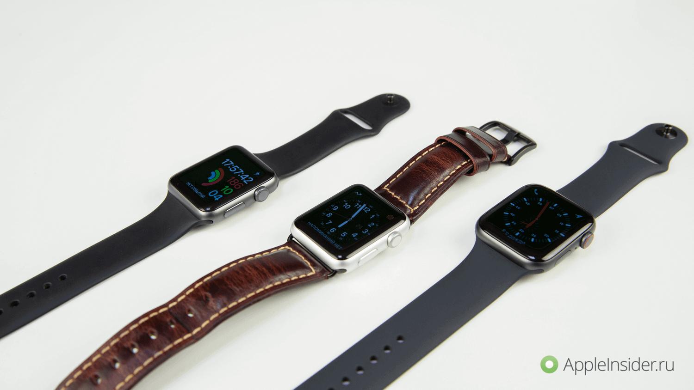 #Видео: опыт использования Apple Watch Series 4