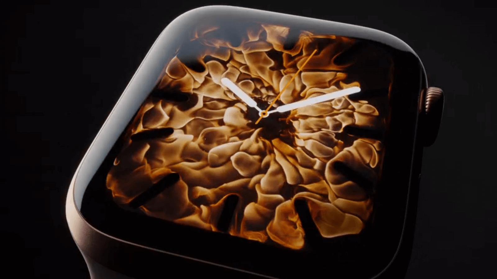 #Видео: Как создавались циферблаты для Apple Watch Series 4