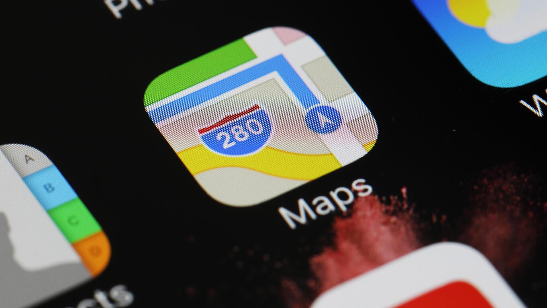Apple сломала Apple Maps в iOS 12
