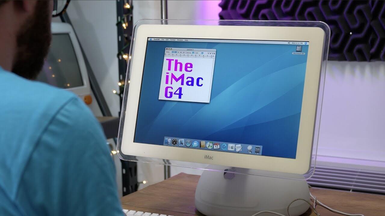 iMac G4, или новые танцы настольных ламп