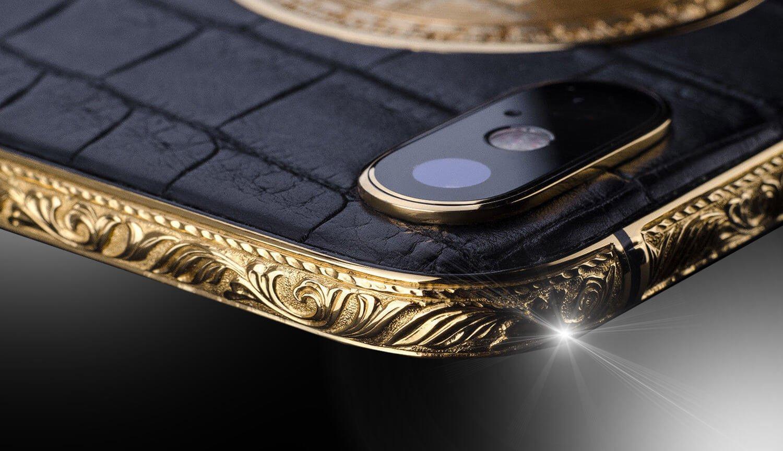 Как выглядят самые дорогие iPhone XS с уникальным дизайном