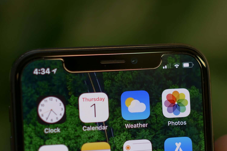Когда Apple избавится от выреза в дисплее?