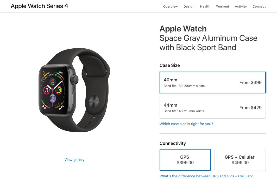 Apple watch series 4 купить в сша