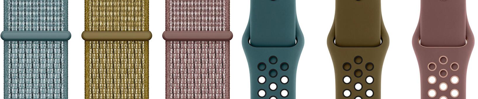 Ремешки Apple Watch от Nike