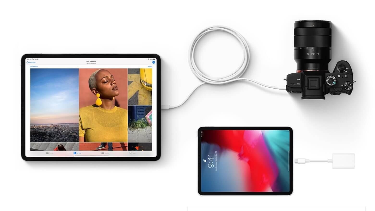 Что можно подключить к iPad Pro с USB-C? — The IT-Files