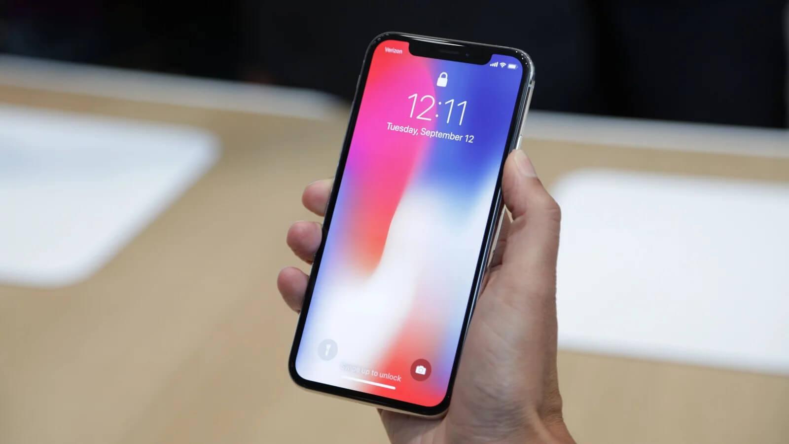 Apple запустила программу замены дисплея iPhone X