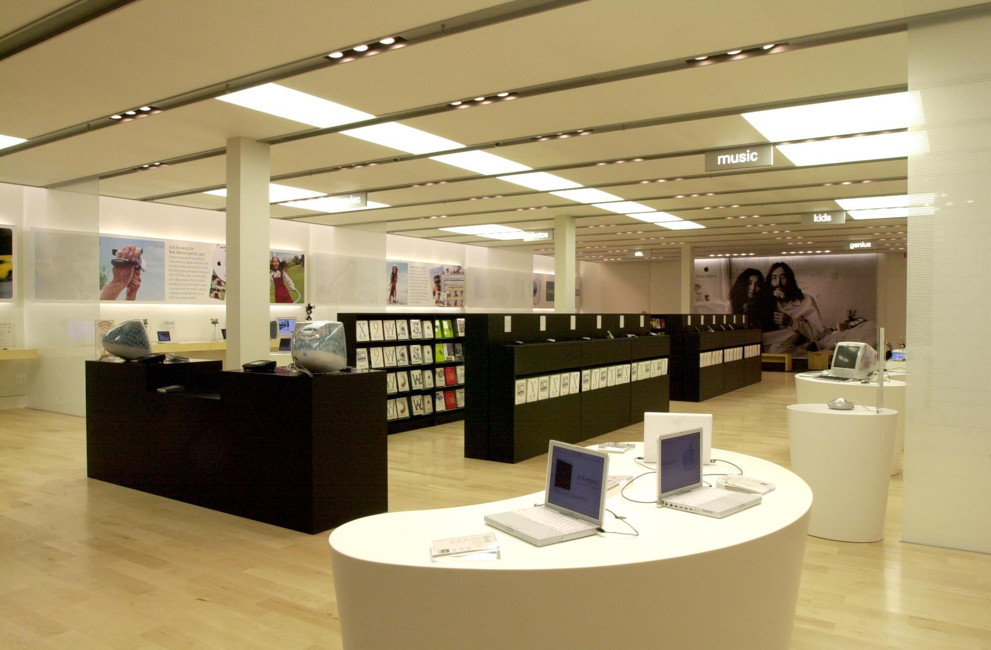 Как создавался первый Apple Store