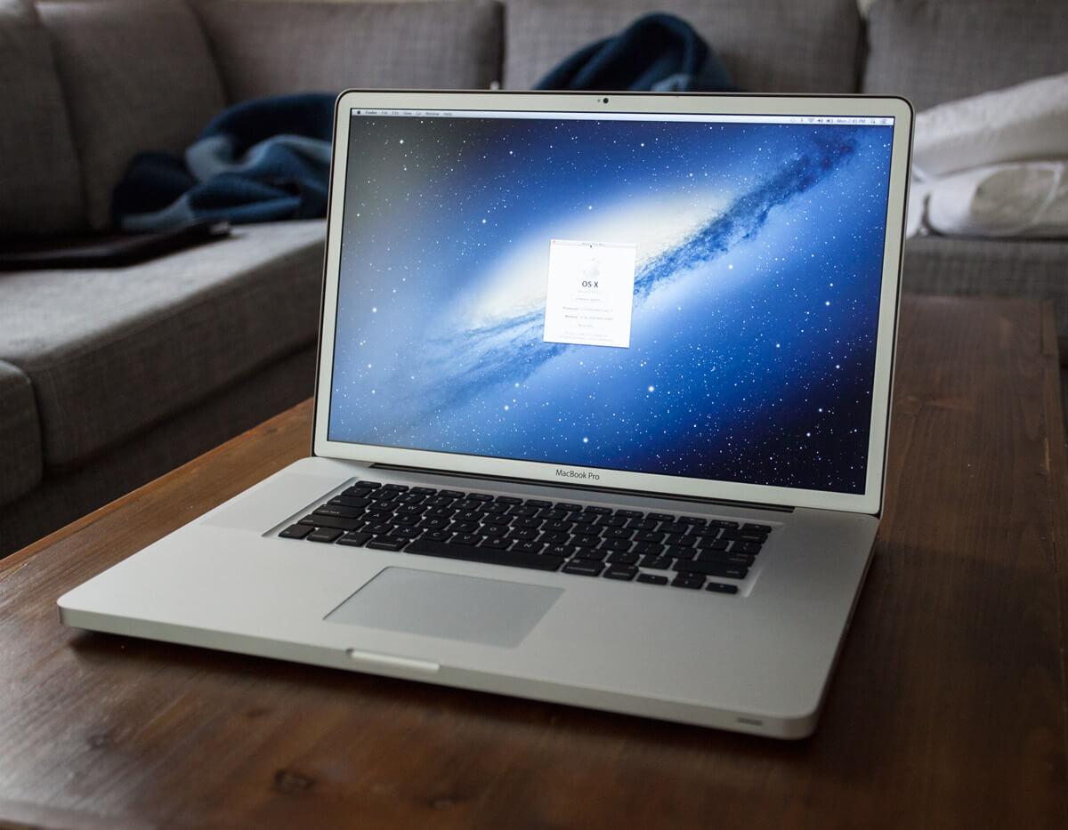 Полноразмерные MacBook Pro (Early 2011)