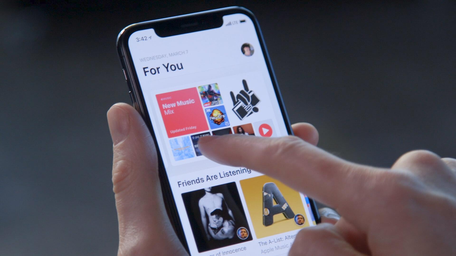 В Apple Music появилась возможность дарить один месяц бесплатной подписки