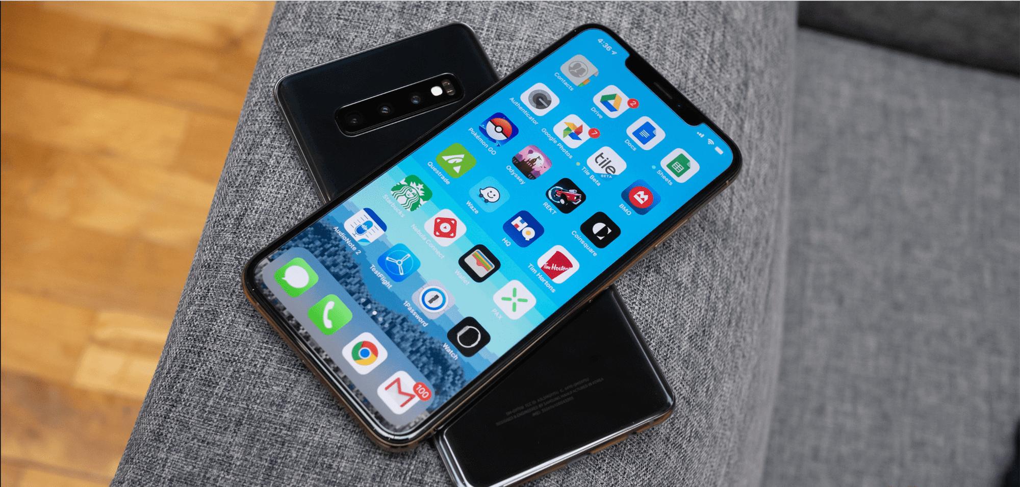 Сравнение камер: iPhone XS Max против Samsung Galaxy S10+