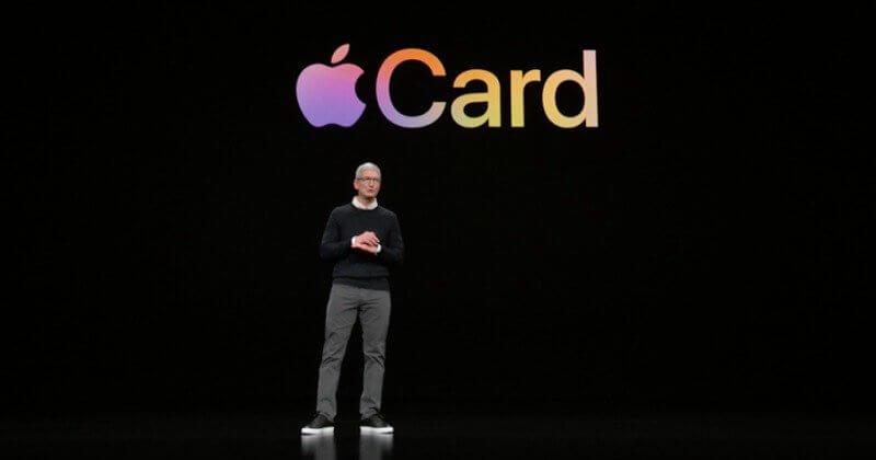 Apple представила банковскую карту Apple Card