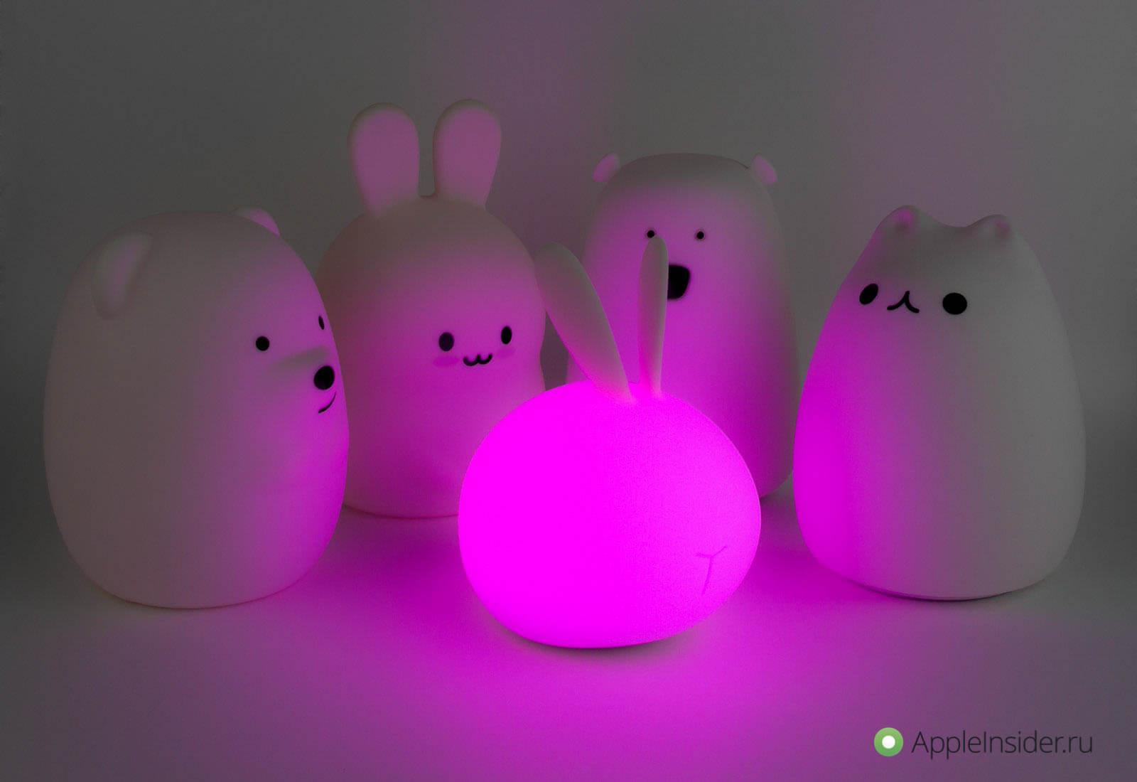 Rombica LED Ricky — ночник, который могла бы сделать Apple
