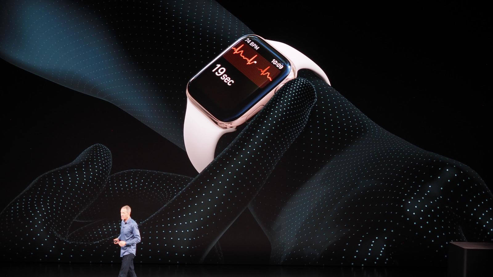 Нетривиальный, но рабочий способ активировать ЭКГ на Apple Watch 4