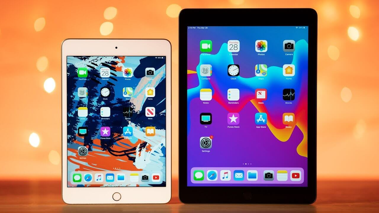 iPad Air 3 и iPad mini 5 поддерживают быструю зарядку