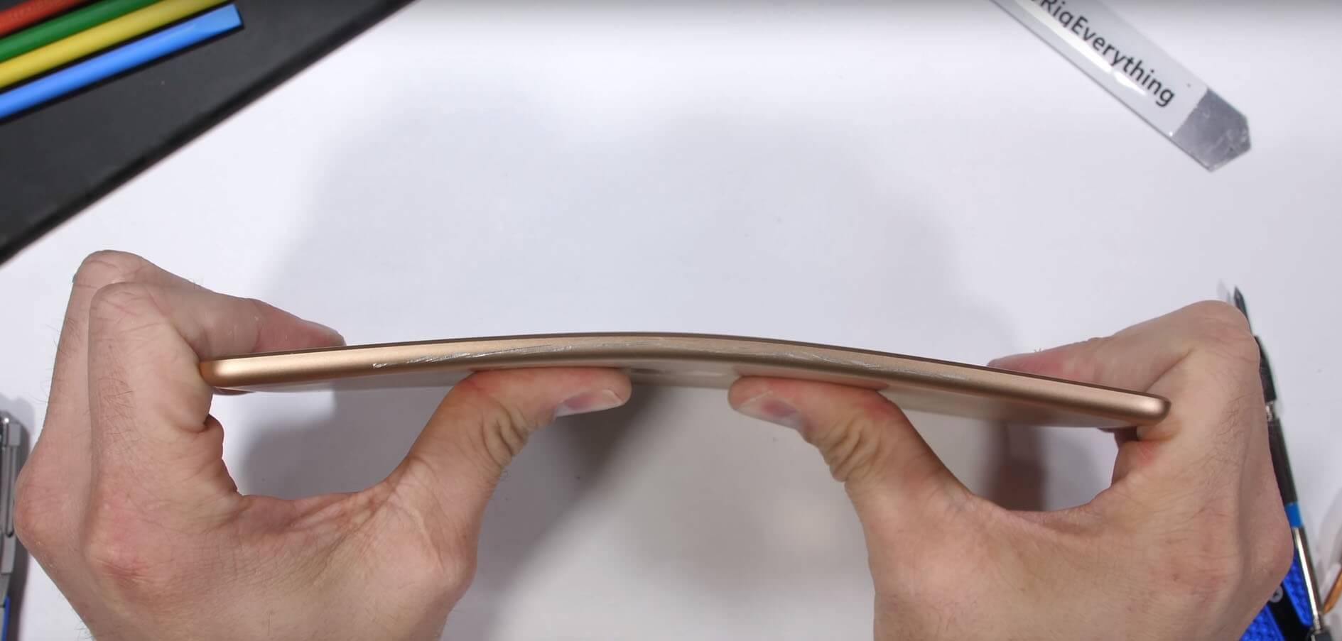 Корпус iPad mini 5 испытали на прочность