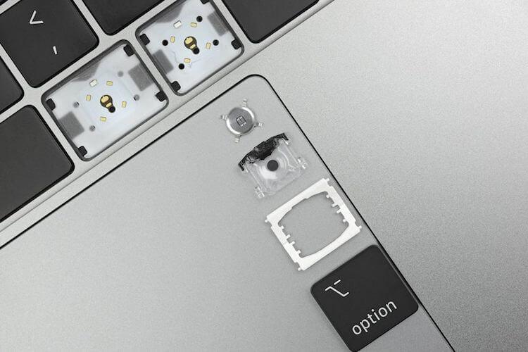 изменилась клавиатура macbook pro
