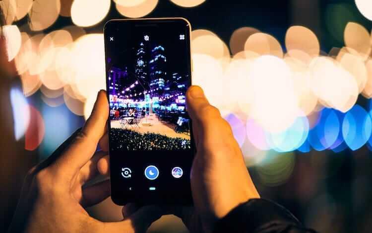 Продвинутый ночной режим съемки в iPhone 11? Давно пора