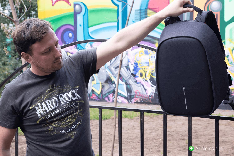 XD Design Bobby Pro — защищенный рюкзак для MacBook и не только