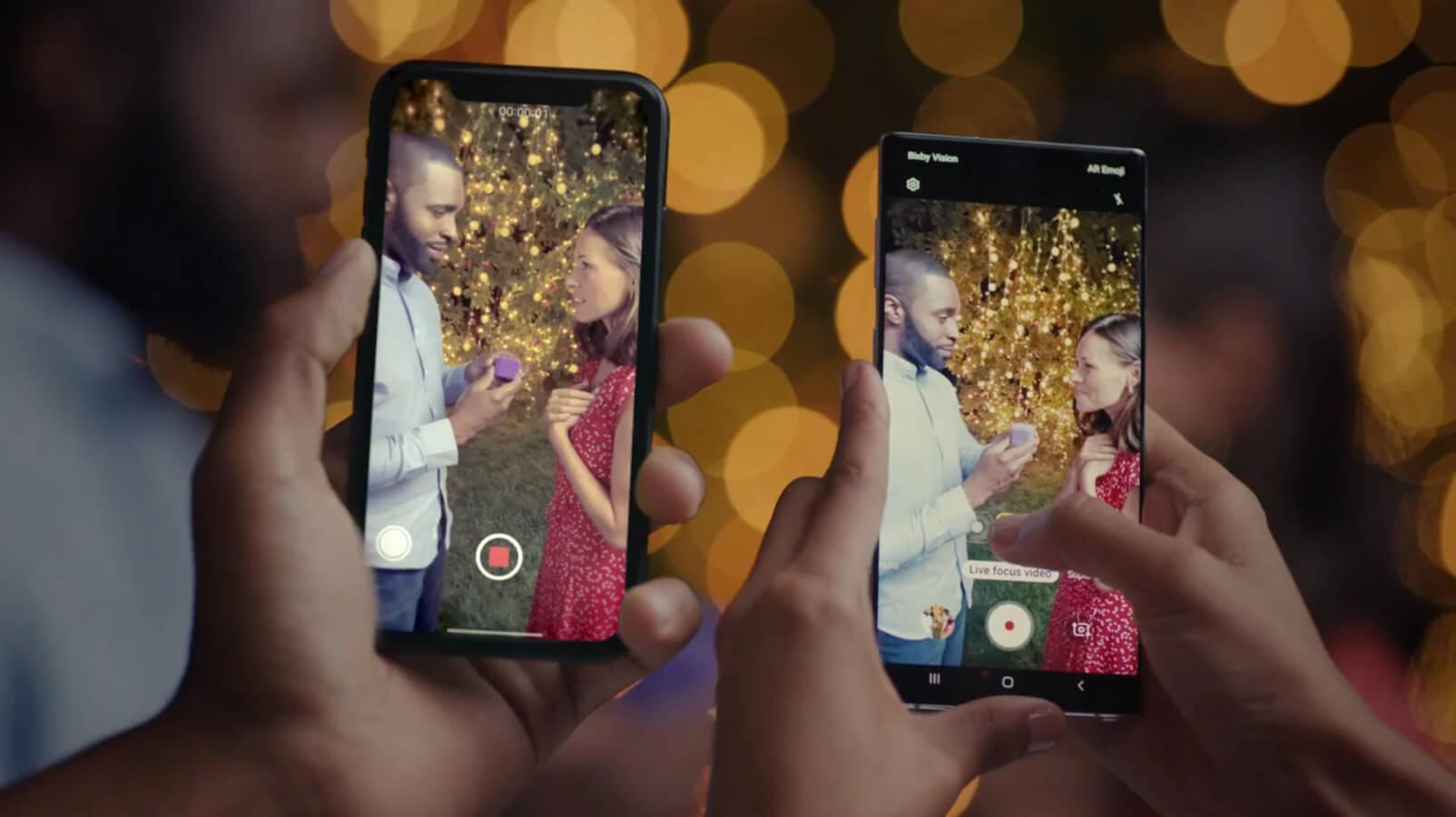 Samsung показала, в чём Galaxy Note 10 превосходит флагманские iPhone