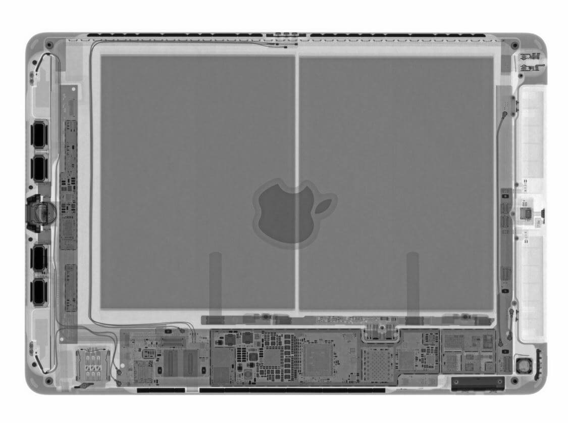 Новому iPad 7 дали оценку ремонтопригодности