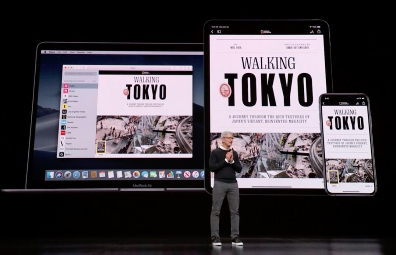 Apple объединит свои сервисы в один и будет продавать их со скидкой в 2020 году