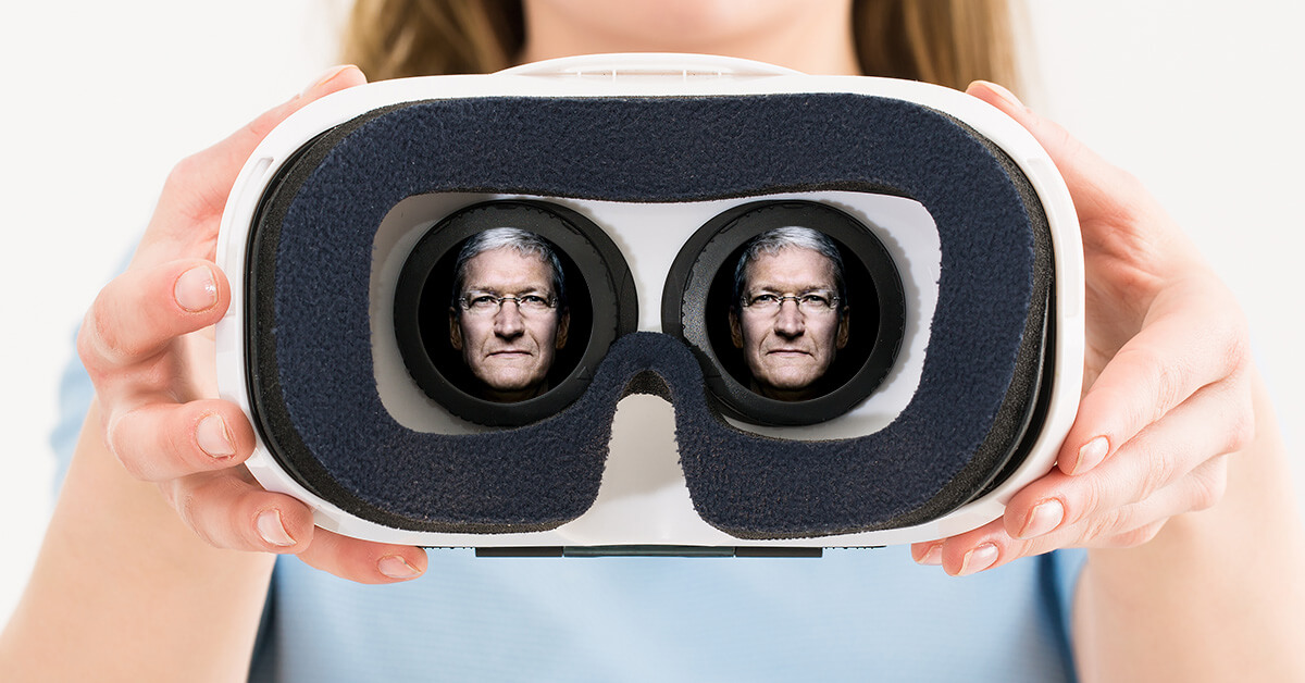 Apple на самом деле нужна дополненная реальность, а не сервисы