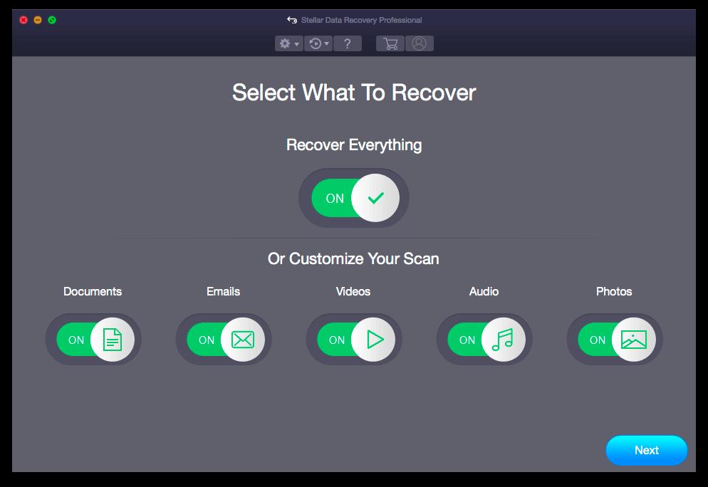 Stellar Data Recovery Professional для Mac