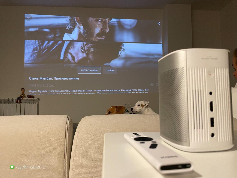 Почему я отказался от телевизора и купил проектор: подробный обзор |