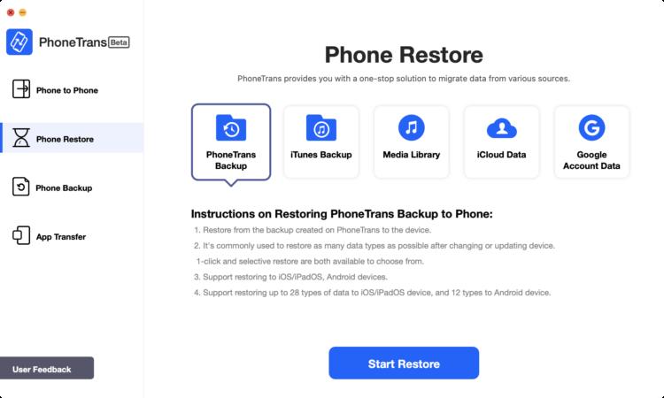 PhoneTrans là ứng dụng giúp chuyển dữ liệu từ iPhone cũ sang iPhone mới - Ảnh 10.
