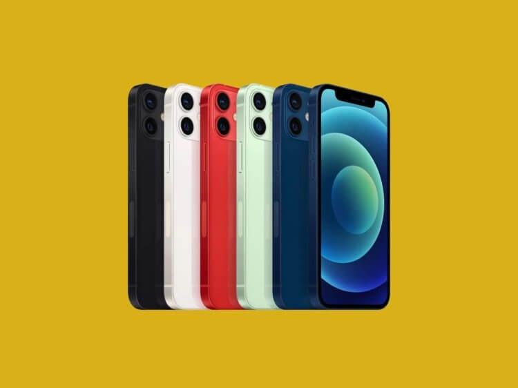 Похоже, Apple пора прекращать производство iPhone 12 mini
