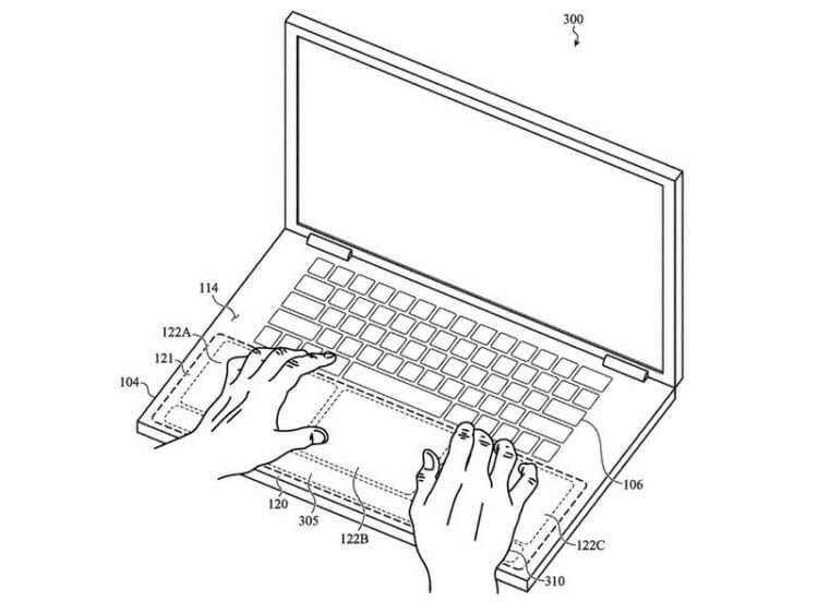MacBook будет вибрировать Apple хочет добавить тактильную отдачу в свои ноутбуки