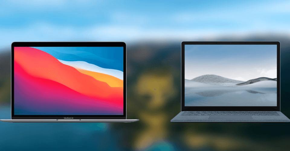 Microsoft Surface Laptop 4  первая реальная угроза MacBook Air M1