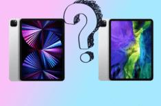 Сравнение iPad Pro