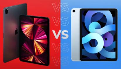 Сравнение iPad Air 4 и iPad Pro 1