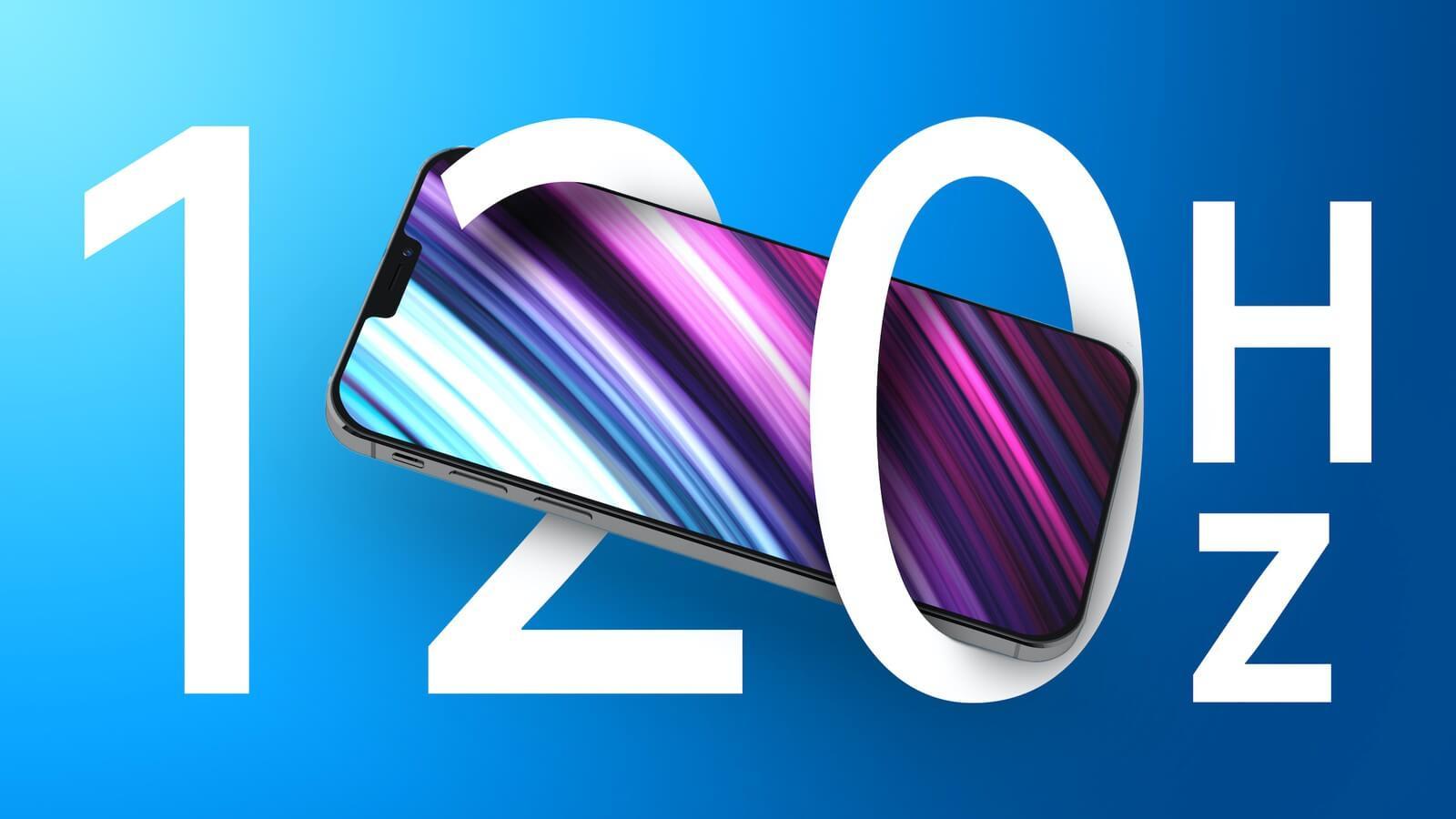 Samsung станет единственным поставщиком экранов 120 Гц для iPhone 13 Pro