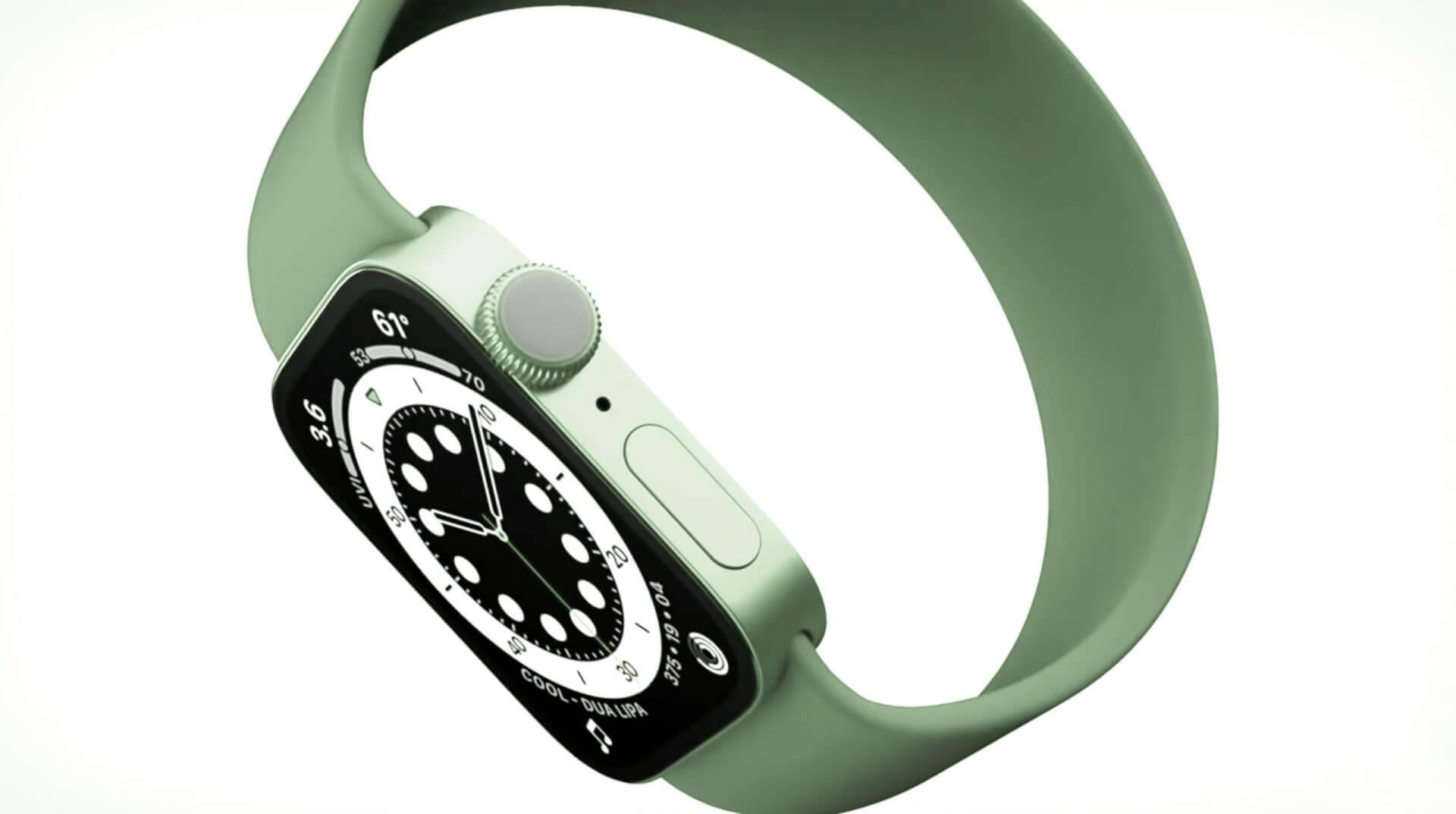Часы в стиле iPhone 13: какими будут Apple Watch 2021 года