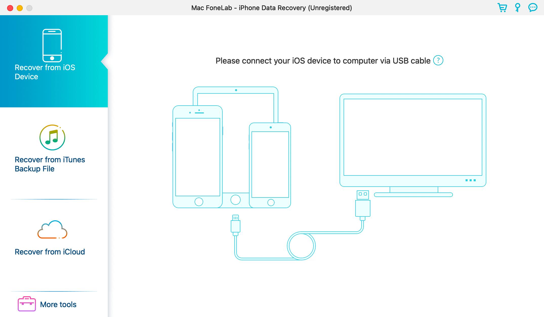 Нашел приложение, которое восстанавливает данные на iPhone. Работает с любой резервной копией