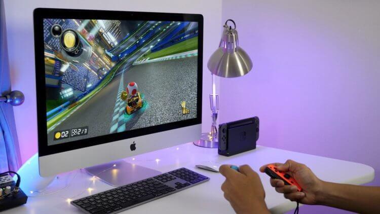 Аналог Nintendo Switch от Apple Почему бы и нет