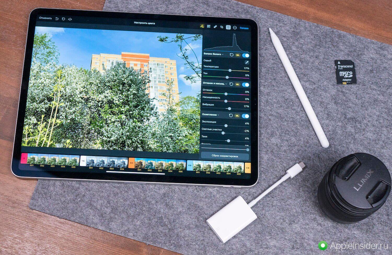 Вот это неожиданно! iPad Pro 2021 использует максимум 5 ГБ оперативной памяти