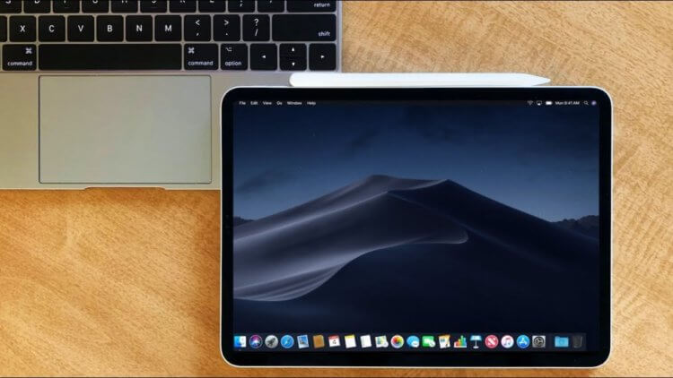 macOS на iPad